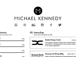 Personal Branding Resume Resume Redesign By Michael Kennedy Dribbble