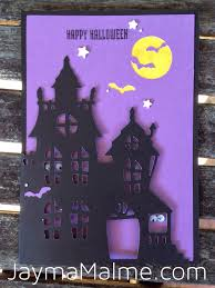 playing with paper scrapbooks cards u0026 diy halloween haunted