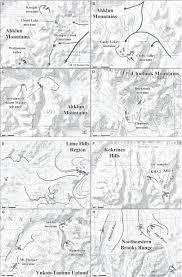 Healy Alaska Map by Cosmogenic Exposure Dating Of Late Pleistocene Moraine
