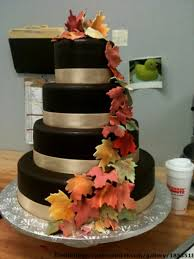 wedding cakes ideas for fall decorating of party