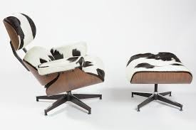 charles eames lounge chair holstein black u0026 white