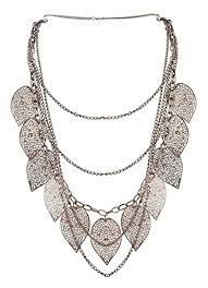 new fashion necklace designs images Buy the trendy trendz leaf design multilayer long chain fashion jpg