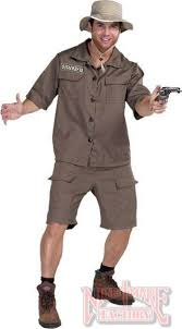 mens costumes bushmaster safari costume size in mens costumes