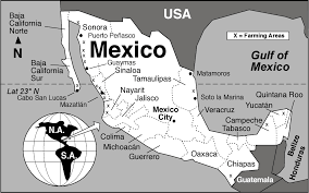 Cabo San Lucas Mexico Map by Fishing Geo Mexico The Geography Of Mexico