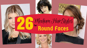 26 superb medium hairstyles for round faces 2015 youtube
