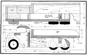 wooden toy trucks plans