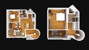 2 Story Home Plans 2 Story 3d Home Plans With Nice Simple Bedroom House Design Floor