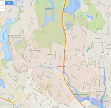 Massachusetts City Map by Medford Massachusetts Map