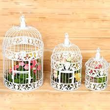 birdcage centerpieces white bird cage decor decorative cages centerpiece ideas metal