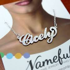 Carrie Bradshaw Name Necklace Name Necklace U0026 Name Jewelry Namefully