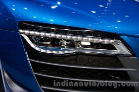 bmw laser headlights audi r8 lmx led headlights at the 2014 moscow motor show indian