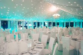 wedding reception decoration white blue indoor wedding reception decoration themewedwebtalks