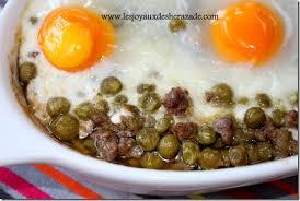 cuisiner des petits pois petits pois à la viande hachée au four les joyaux de sherazade