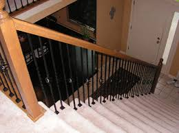 New Banister And Spindles Cost Gallery Spindles Iron Kc Wood