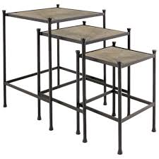 charleston forge drink tables charleston forge 6200 drink table nesting tables set of 3 discount