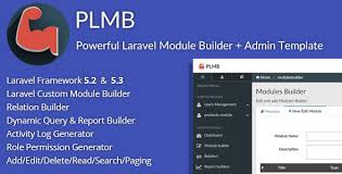 report builder templates nulled plmb powerful laravel crud generator package builder