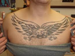 eagle wings chest quotes 3d design idea for and
