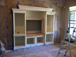 adding a custom entertainment center to a standard drywall built