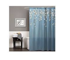 Lush Shower Curtains Lush Decor Flower Drops Shower Curtain 72 By 72 Inch Federal