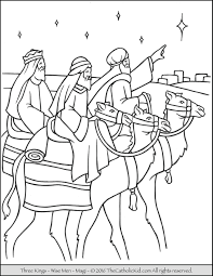 epiphany catholic coloring pages the catholic kid
