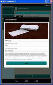 buy company profile for tablet business for android