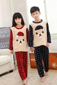 winter family pajamas christmas flannel boys girls kids pajamas