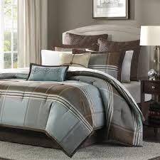 Earth Tone Comforter Sets Modern Bedding For Men Allmodern