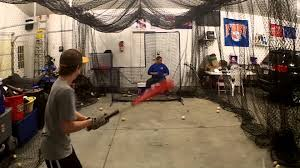 Batting Cage For Backyard by Batting Cage Is In The Garage For The Winter Nov 25th 2013 Youtube
