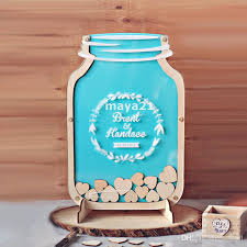 customizable guest books personalized wedding guest book unique top drop heart pieces sign