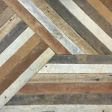 reclaimed wood wall decor lath pattern geometric 19 x 19