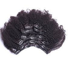 3a Curly Hair Extensions by Amazon Com Afro Clip In Extensions Natural Hair 100