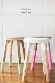 on trend diy dipped stools for half the price