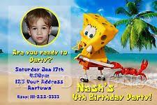 spongebob squarepants birthday child greeting cards ebay