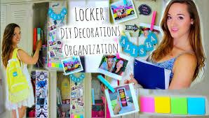 Ideas For Locker Decorations Diy Locker Organization Decor Inspired Back To