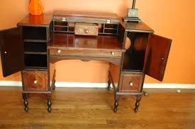 hekman folding top writing desk for sale antiques com classifieds