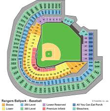 Citi Field Seating Map Best Seats For Foul Balls At Rangers Ballpark At Arlington The
