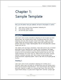 manual template word word manual template 5 free word documents