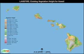 Map Hawaii Landfire Program Applications