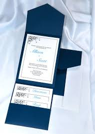 wedding invitations navy print your own navy blue wedding invitations navy blue pocket