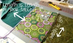 make your own table runner diy table runners mike and molly s house