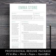 resume template professional and modern resume cv template