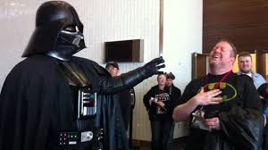 darth vader force choke darth vader force choking at dallas sci fi expo 2012 youtube