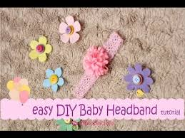 how to make baby flower headbands easy diy baby headband tutorial pink flower erika felt flanel