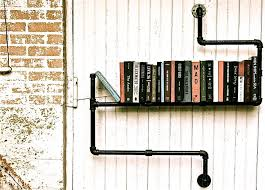 How To Make A Pipe Bookshelf 21 Cool Tips To Steampunk Your Home
