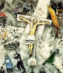 chagall u0027s jesus crucified art admonishing christianity