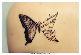 butterfly tattoos with names in the wings search