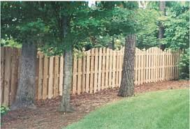 Decorative Outdoor Fencing Backyard Renovation Building The Dog Fence Part Pictures With