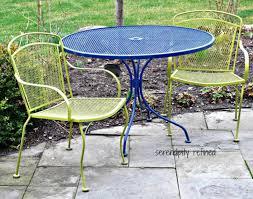 patio u0026 pergola 13 stunning vintage metal patio furniture with