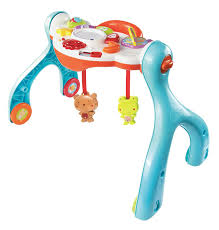 baby standing table toy amazon com vtech lil critters 3 in 1 baby basics gym discontinued