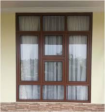 design interior rumah kontrakan model kusen jendela kamar tidur jendela aluminium casement house